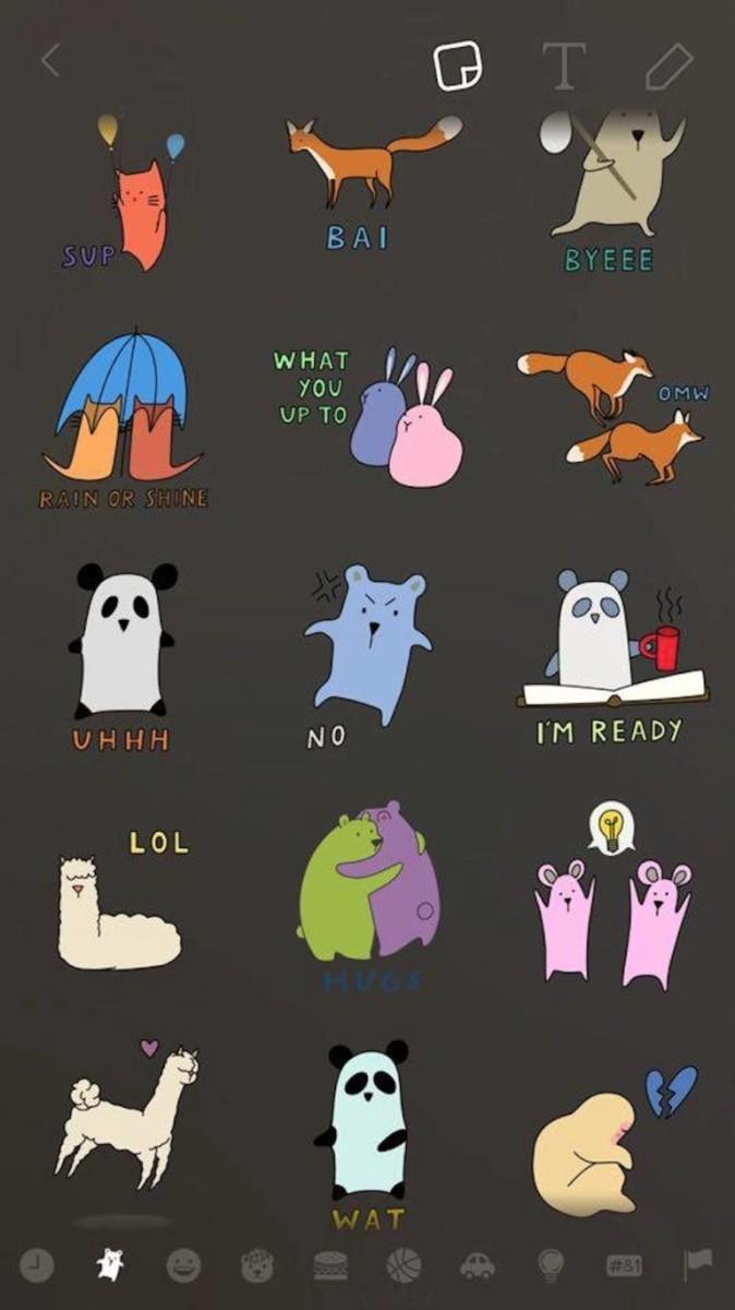 emojis snapchat