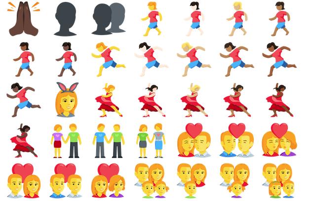 Facebooks nya girl power emojis