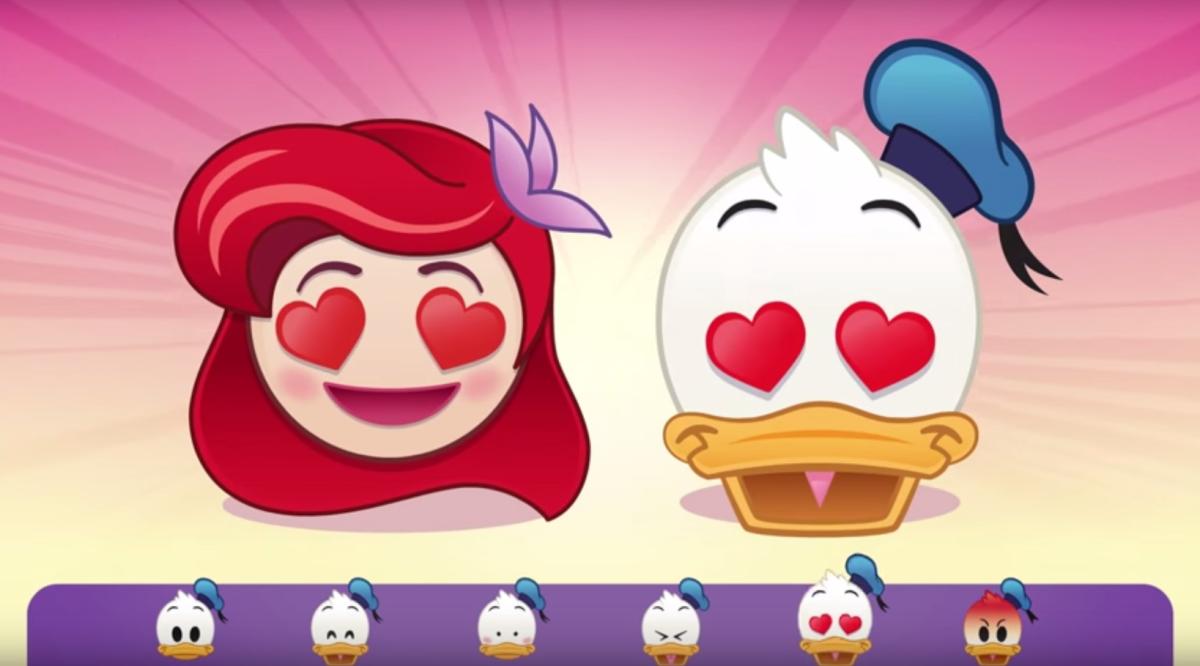 disney emoji kalle anka