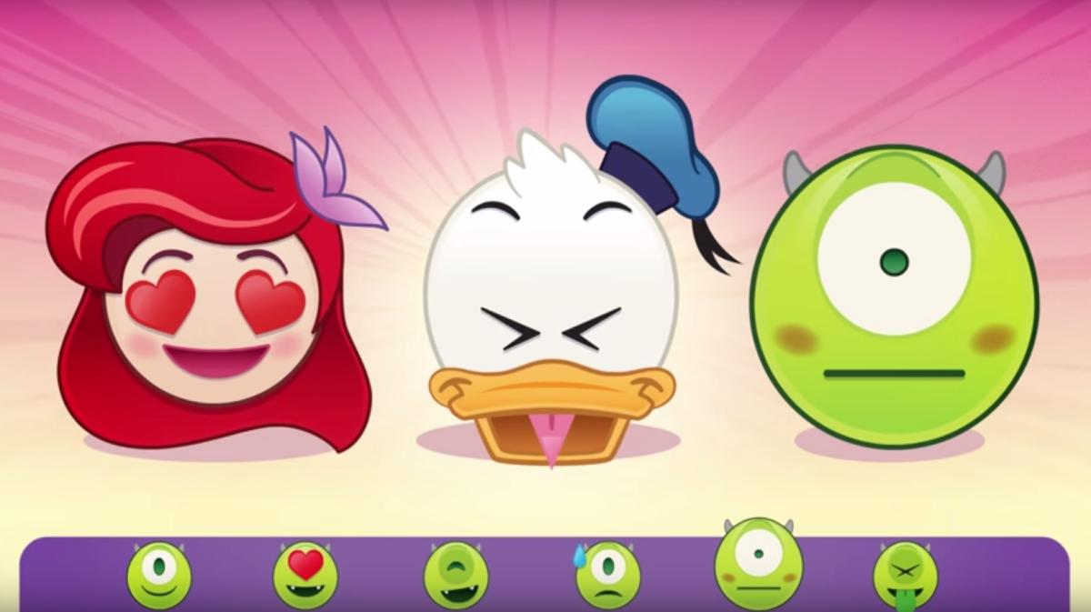 disney emoji monsters inc