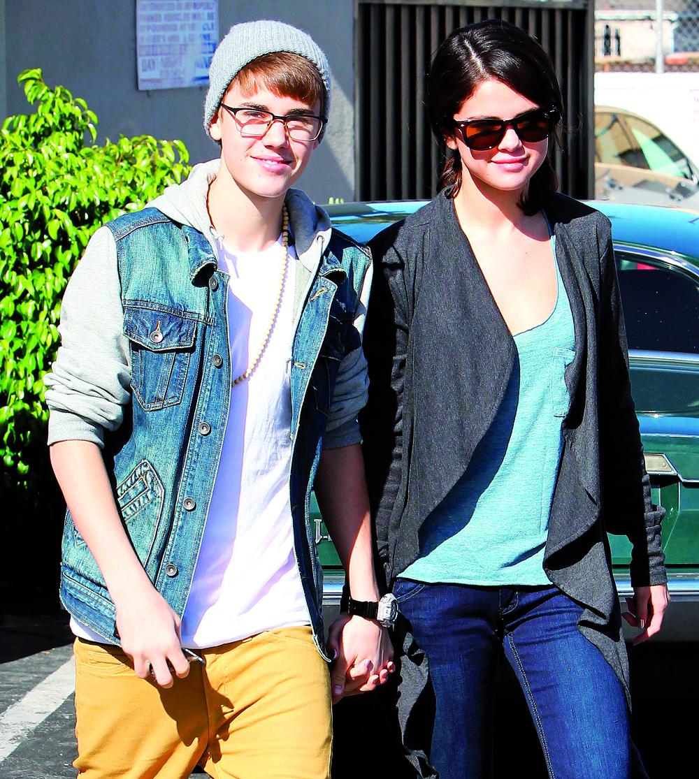 När Justin dök upp försvann Selenas purityring.