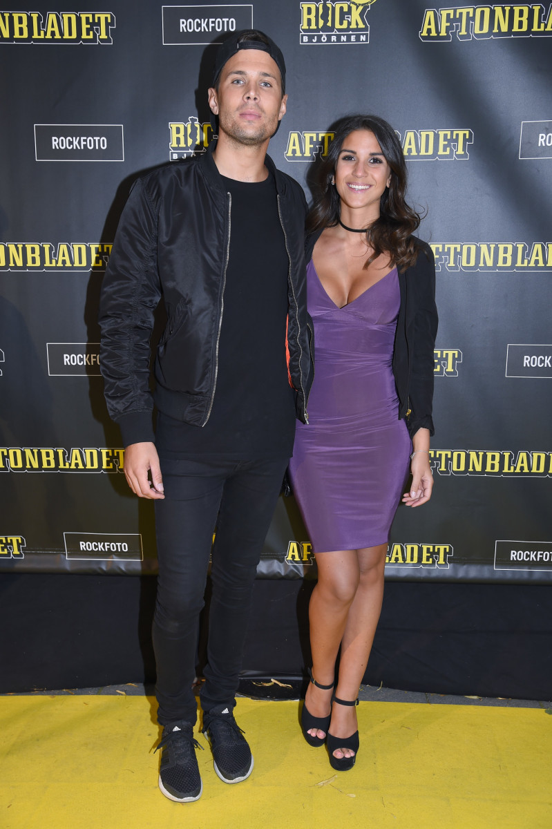 Robin Bengtsson och Jennie Salte