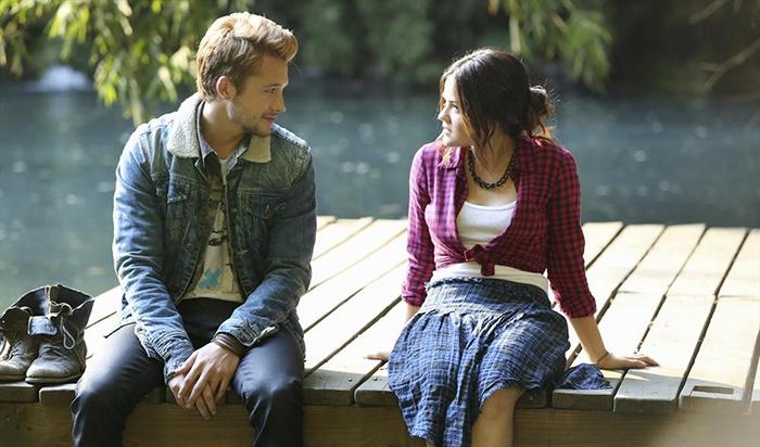 gjorde Aria och Ezra dating i verkliga livet