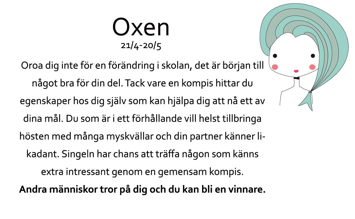 Oxen-Horoskop-Oktober