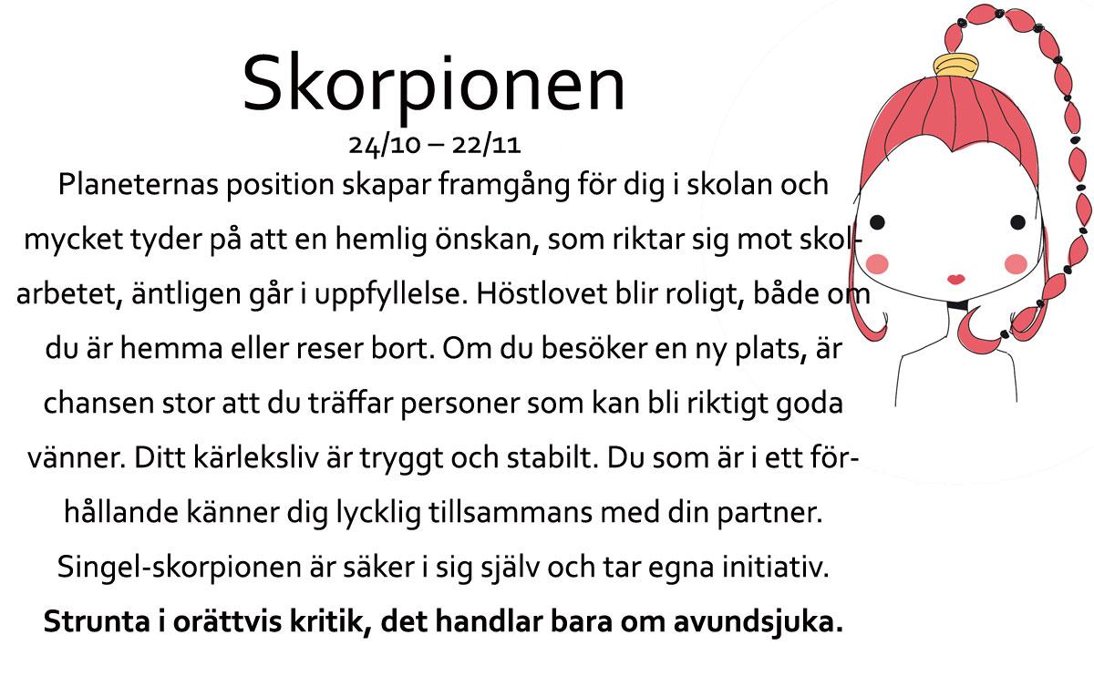 Skorpionen-horoskop-oktober
