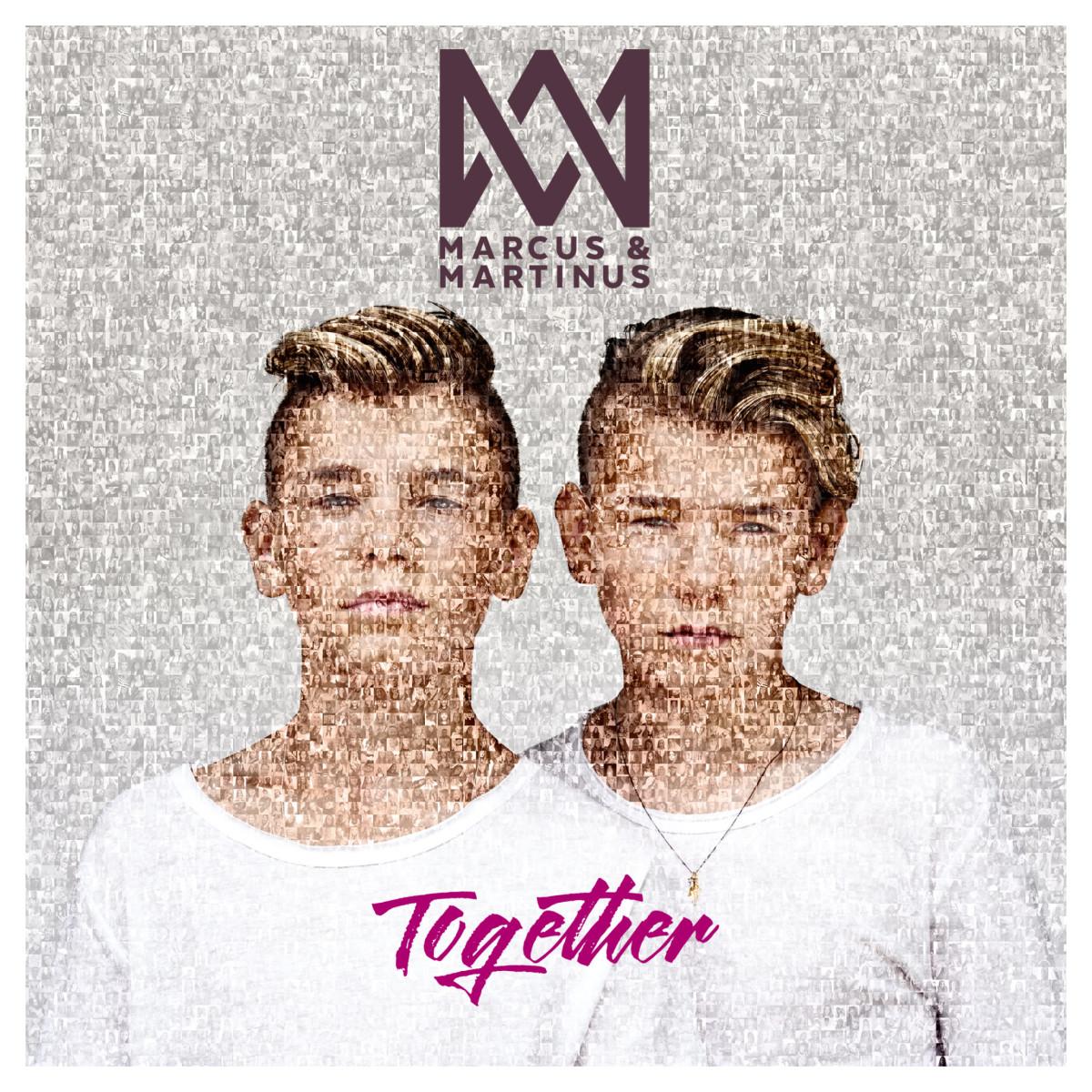 Omslagsbilden på nya skivan Together är gjord av massa små bilder på fans. Hur coolt?