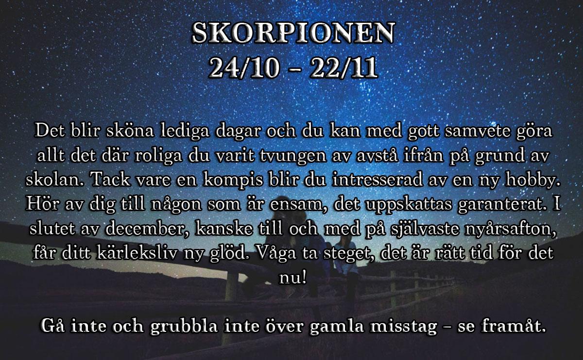 Veckohoroskop-vecka-52-skorpionen
