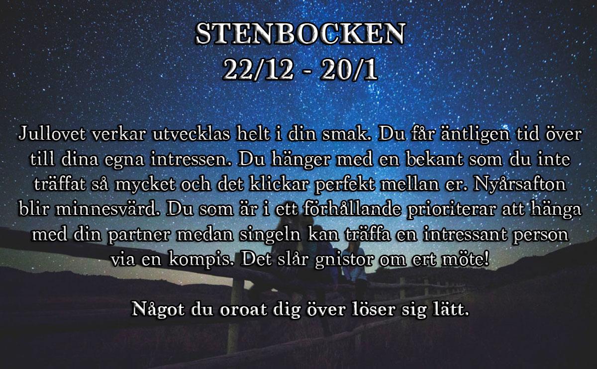 Veckohoroskop-vecka-52-stenbocken
