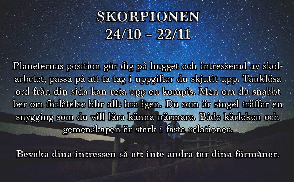Horoskop-vecka-5-skorpionen