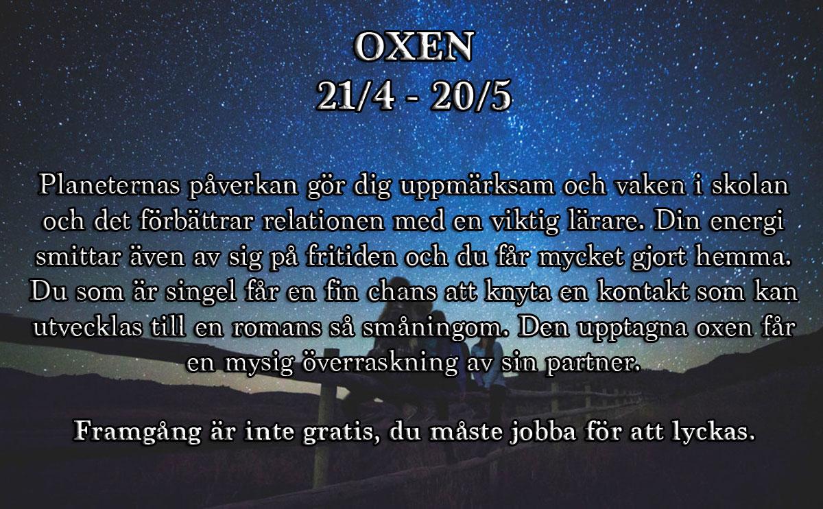 Horoskop-vecka-6-oxen