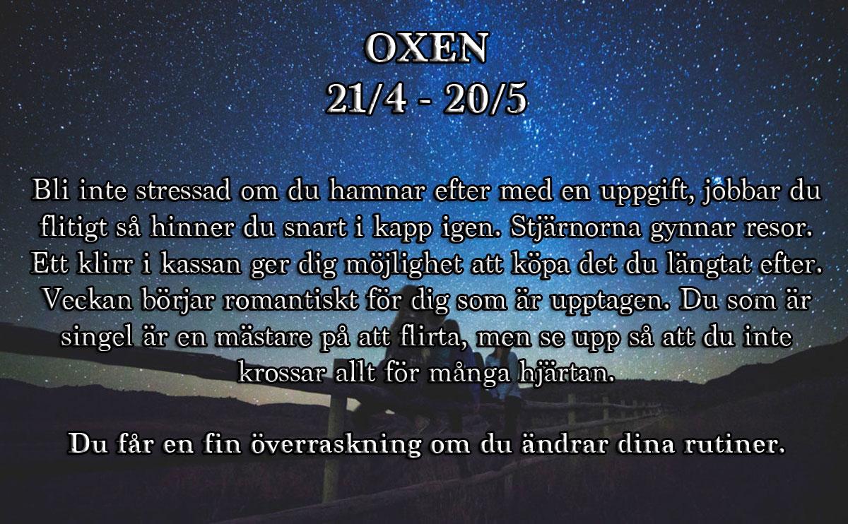 Horoskop-vecka-8-2017-oxen