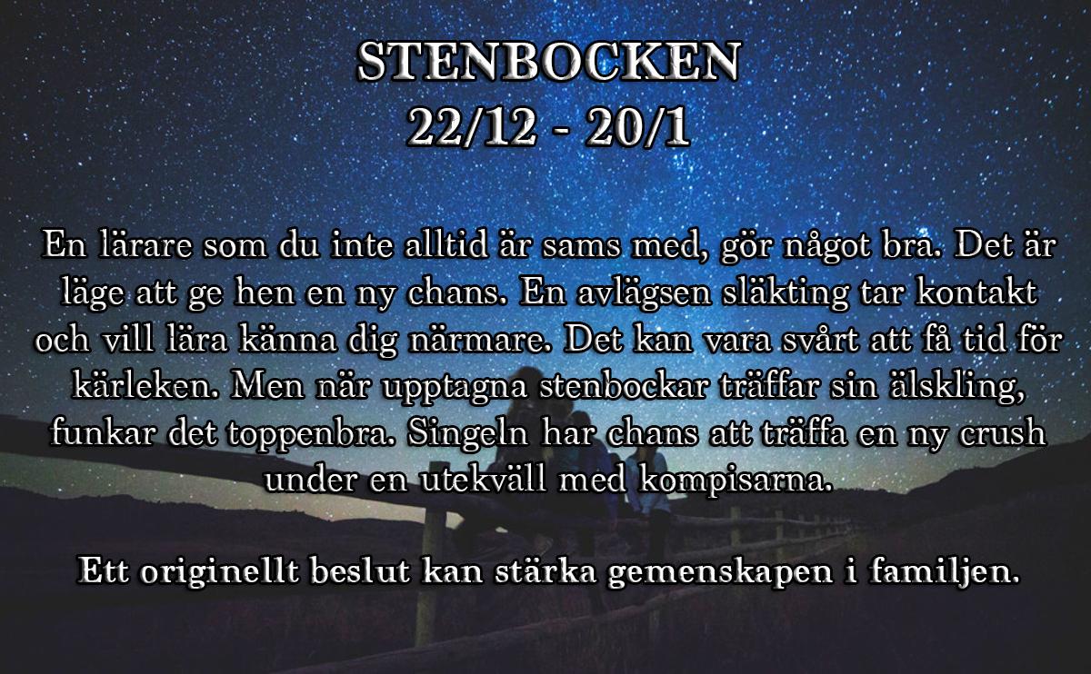 9-horoskop-vecka-22-stenbocken