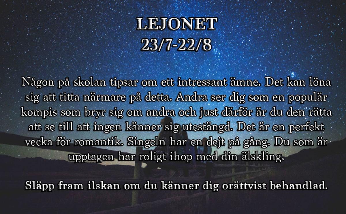 5-horoskop-vecka-38-lejonet