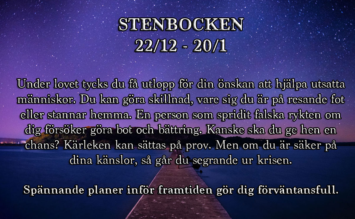 9-horoskop-vecka-44-stenbocken