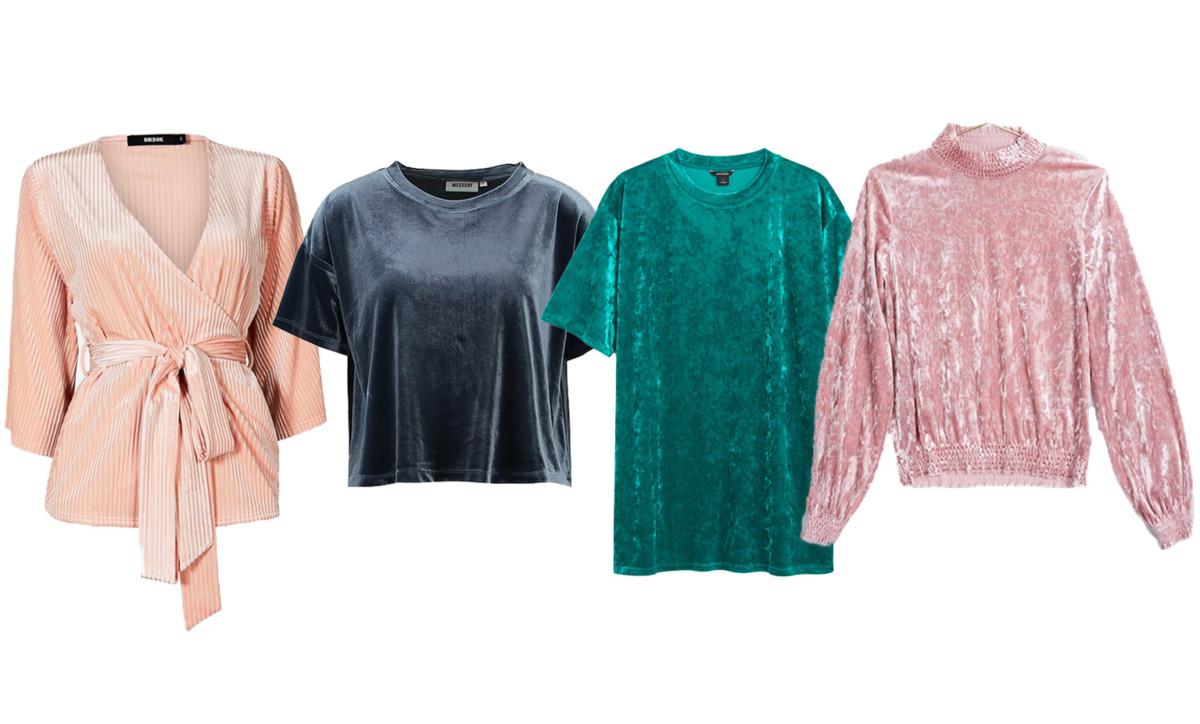 Rosa blus från Bik Bok (reklamlänk via Apprl) . 2. Grå t-shirt från Weekday  (reklamlänk via Apprl) . 3. Blågrön t-shirt från Monki (reklamlänk via  Apprl) . a8bc71c91ee57