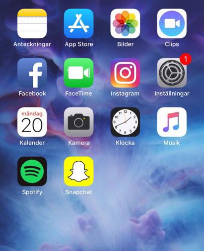 Organisera-appar-bokstavsordning