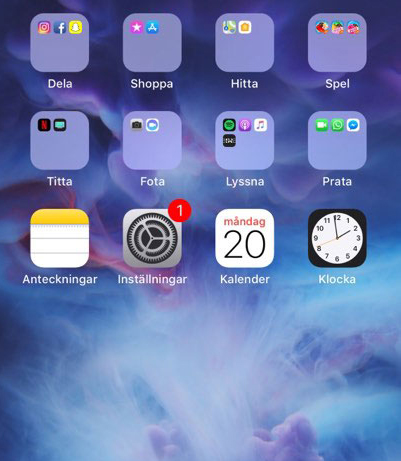 Organisera-appar-mappar