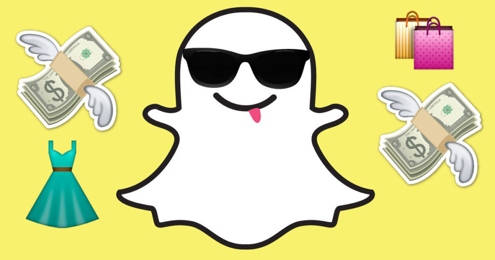 Snart kan du shoppa direkt i Snapchat-appen