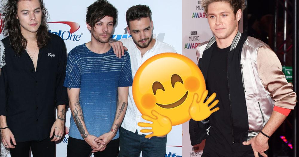 Så hyllar One Direction Niall Horan för sololåten