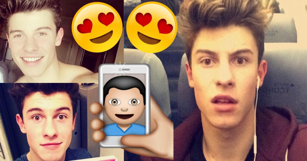 Vilken Shawn Mendes-selfie gillar du mest? Rösta här!