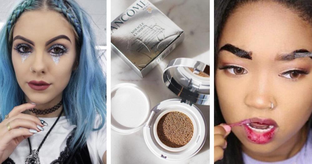 Metallic lips och glittertårar – de galnaste sminktrenderna från 2016