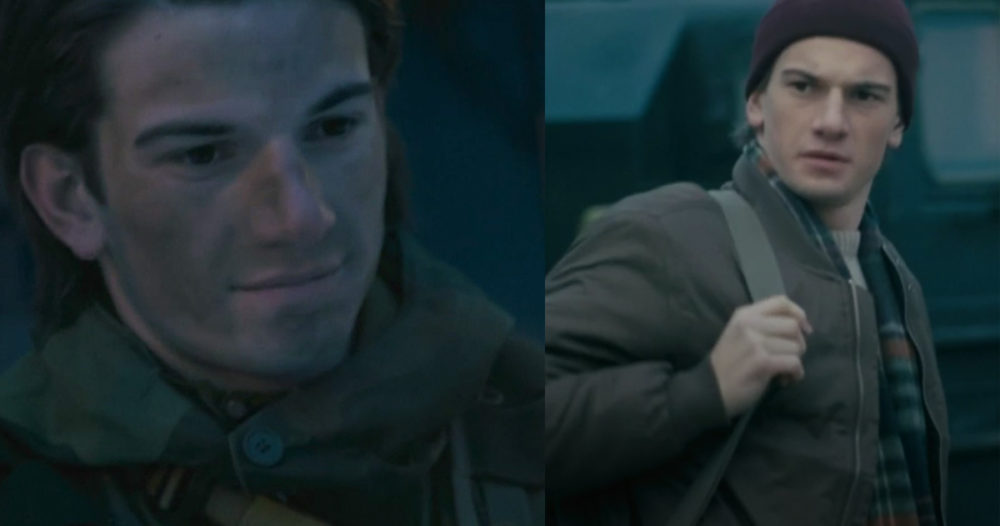 Här kan du se Thomas Hayes som militär i nya serien Elven