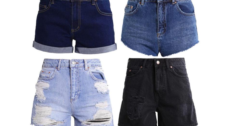 15 trendiga jeansshorts