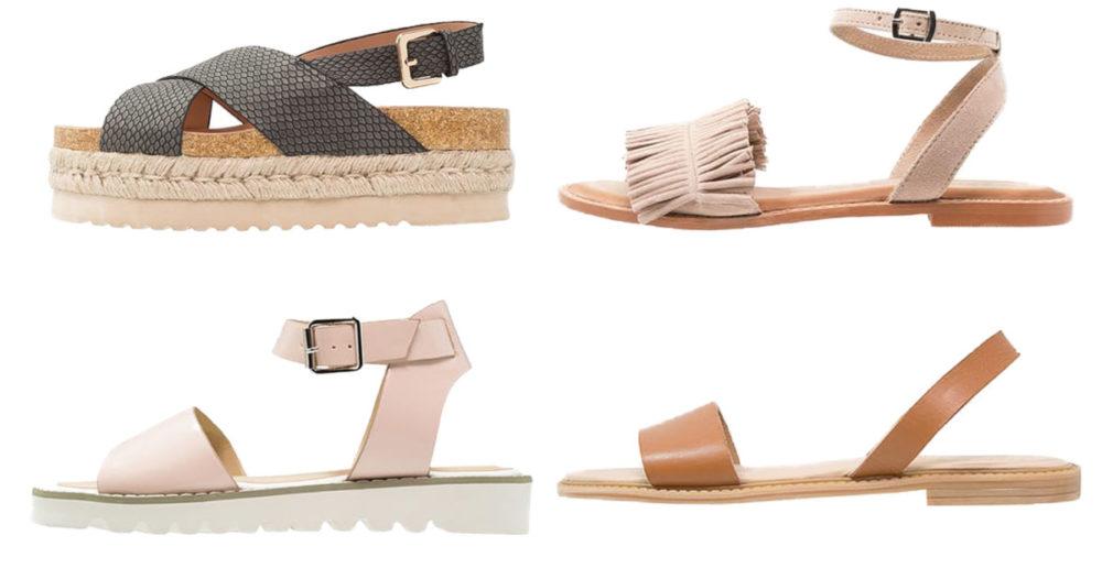 18 trendiga sandaler att njuta av värmen i