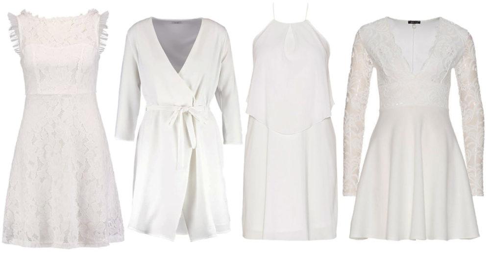 12 vita klänningar till sommaren
