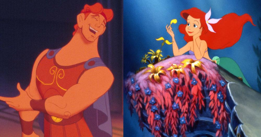 Disney-fansens teori: Herkules och Ariel är släkt