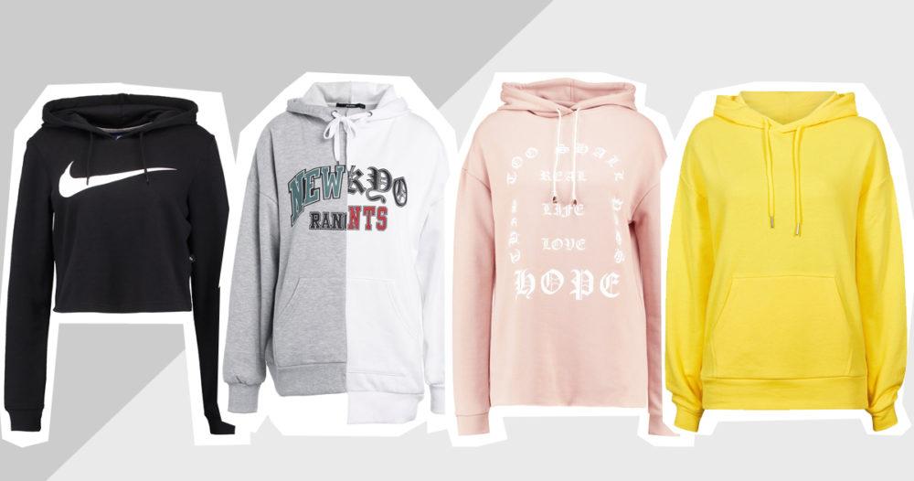 12 trendiga hoodies för under 400 kronor