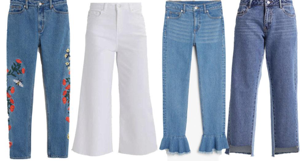 10 trendiga jeans till hösten