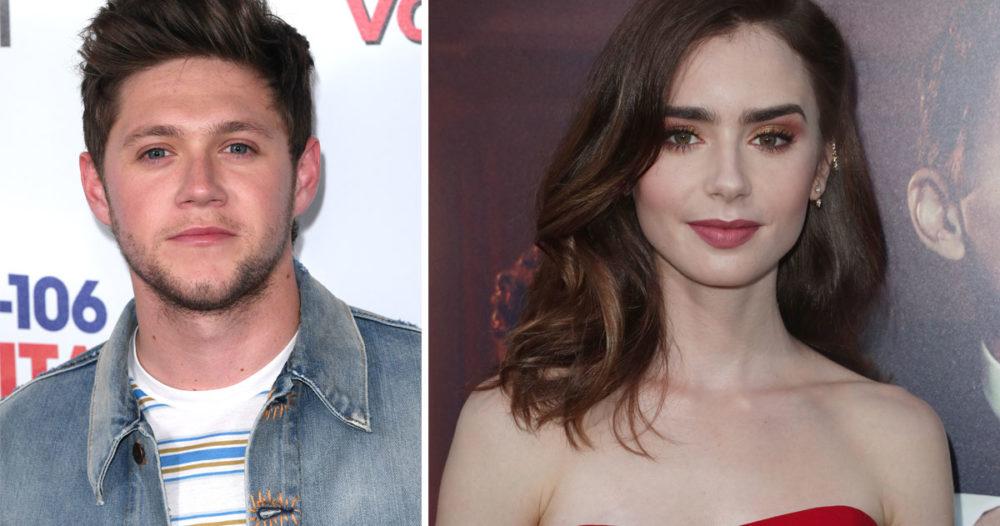 Fansens teori: Därför dejtar Niall Horan och Lily Collins