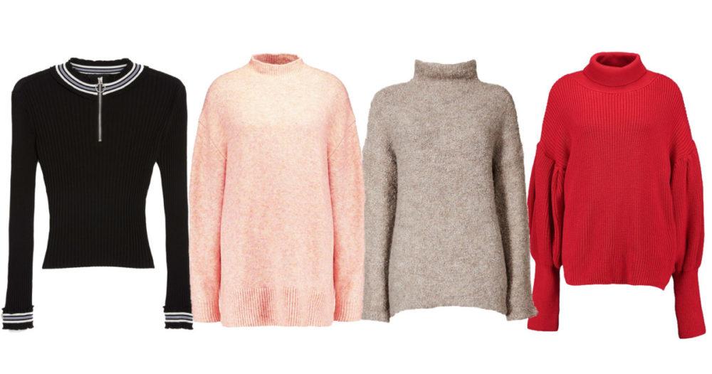 15 stickade polotröjor som värmer dig i höst