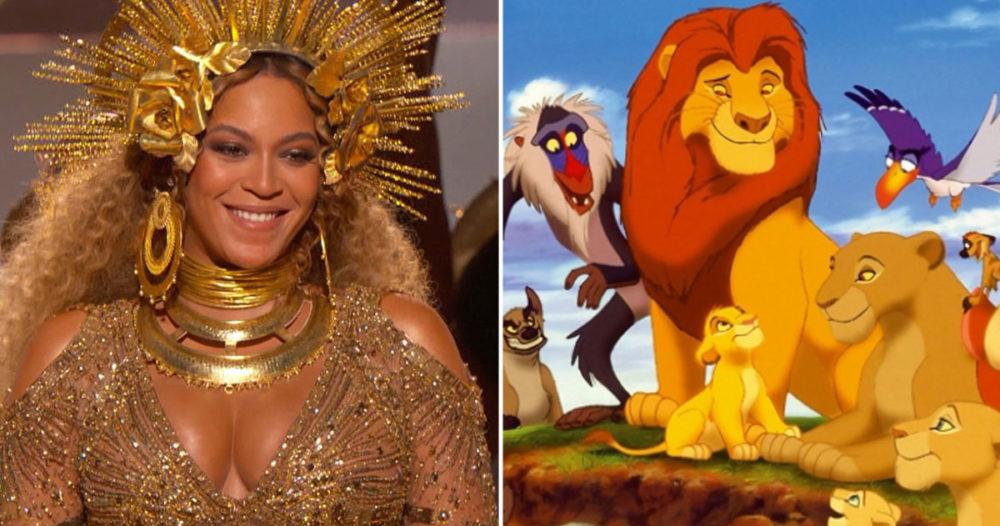 Beyoncé ska vara med i nya versionen av Lejonkungen