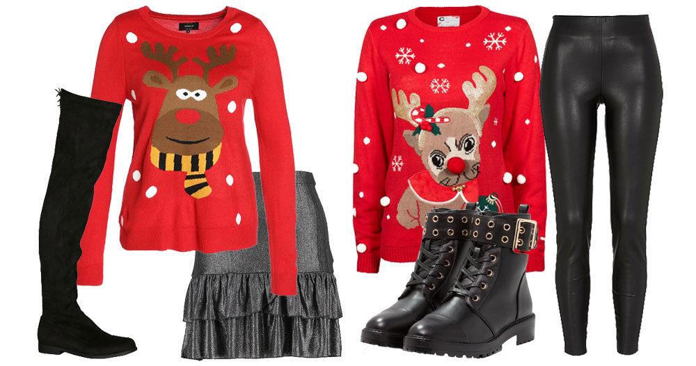 Så matchar du jultröjan - på fyra trendiga sätt