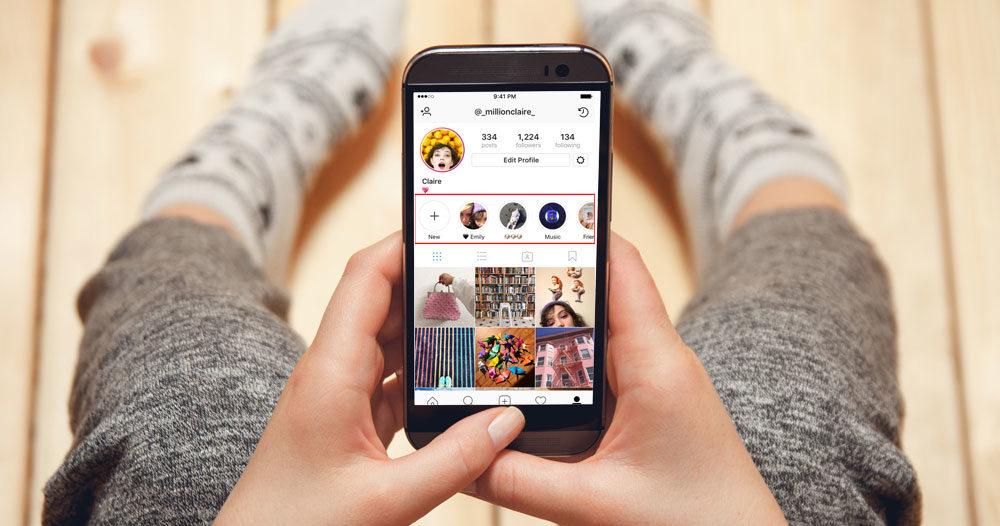 Instagram-stories-arkiv-highlights