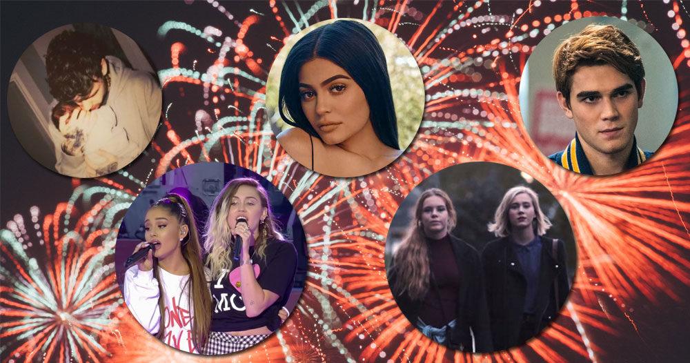 Årets största händelser i kändisvärlden