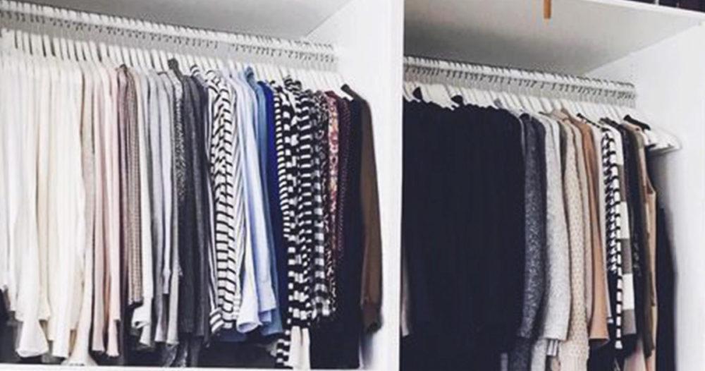 Så får du mer plats i garderoben — med en kapsyl