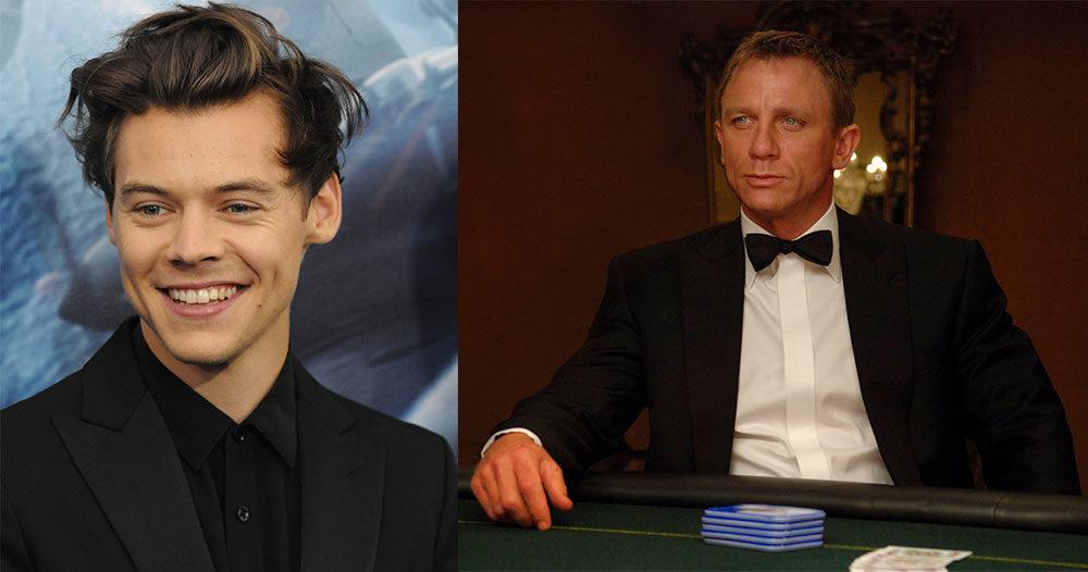 Harry Styles ryktas bli nästa James Bond