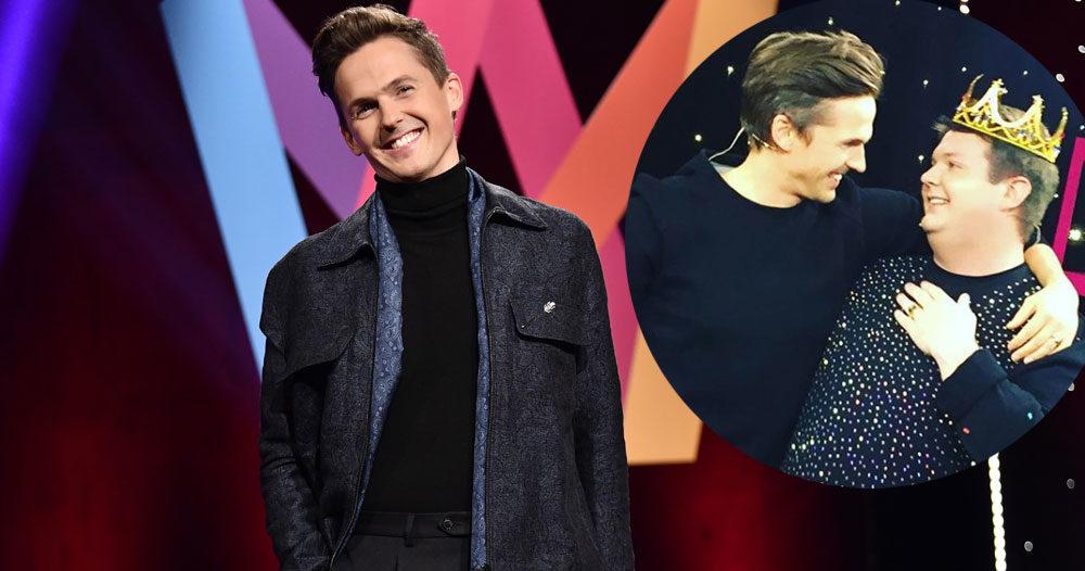 Han blir sidekick i Melodifestivalen 2018