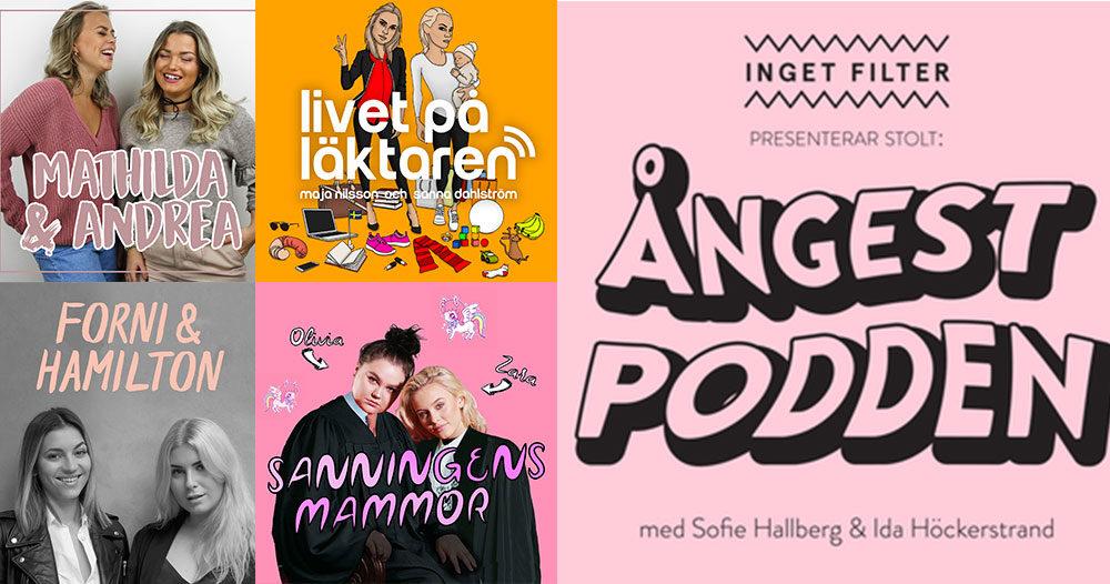 Tio podcasts att lyssna på när du behöver pepp