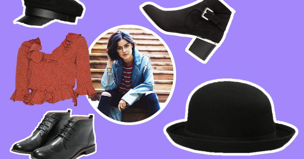Sno stilen av Lucy Hale — här hittar du kläderna