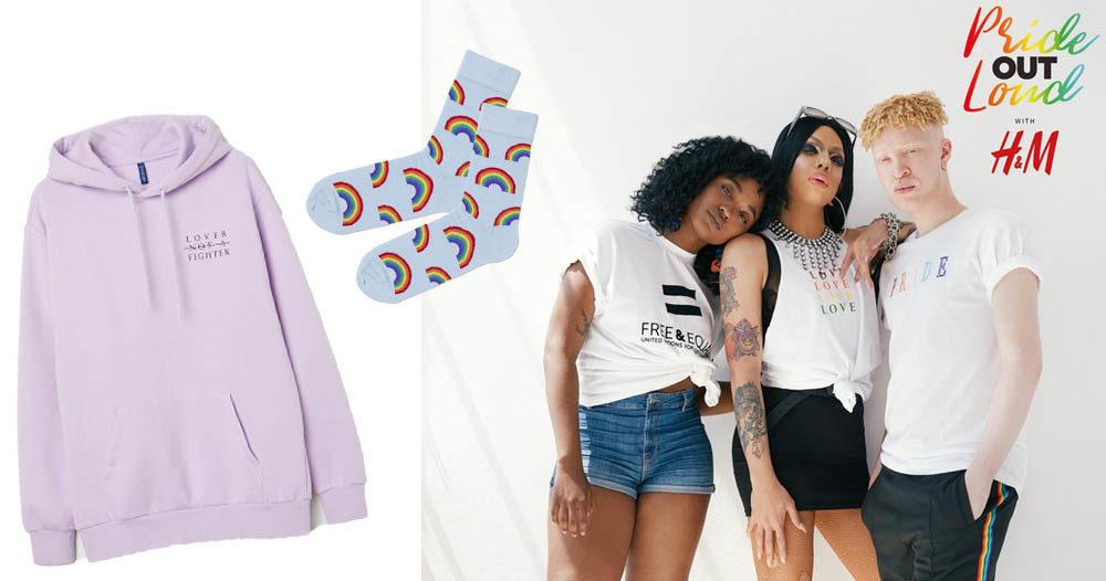 H&M släpper pride-kollektion - se plaggen här