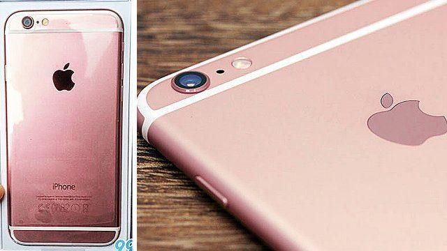 rosa iphone 6s