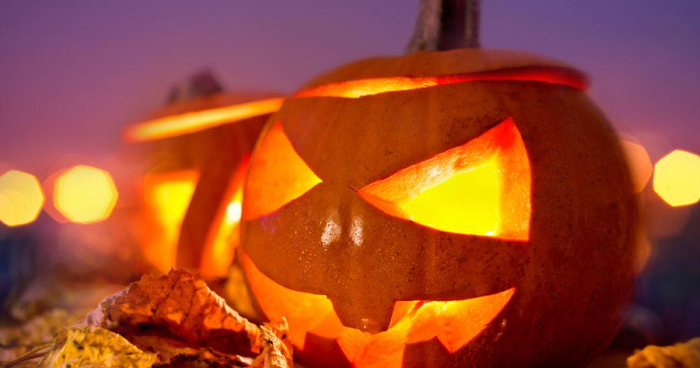 Halloween pumpor